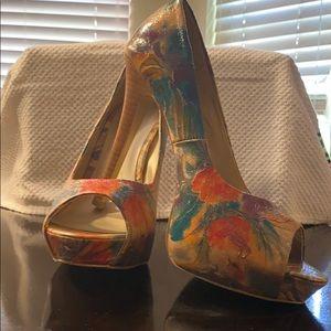 Never worn sz 9 diba shoes